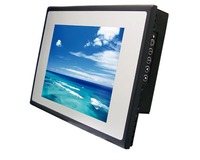 "15.1"" LED Backlight 4:3 Panel mount Waterproof Touch Screen Monitor"