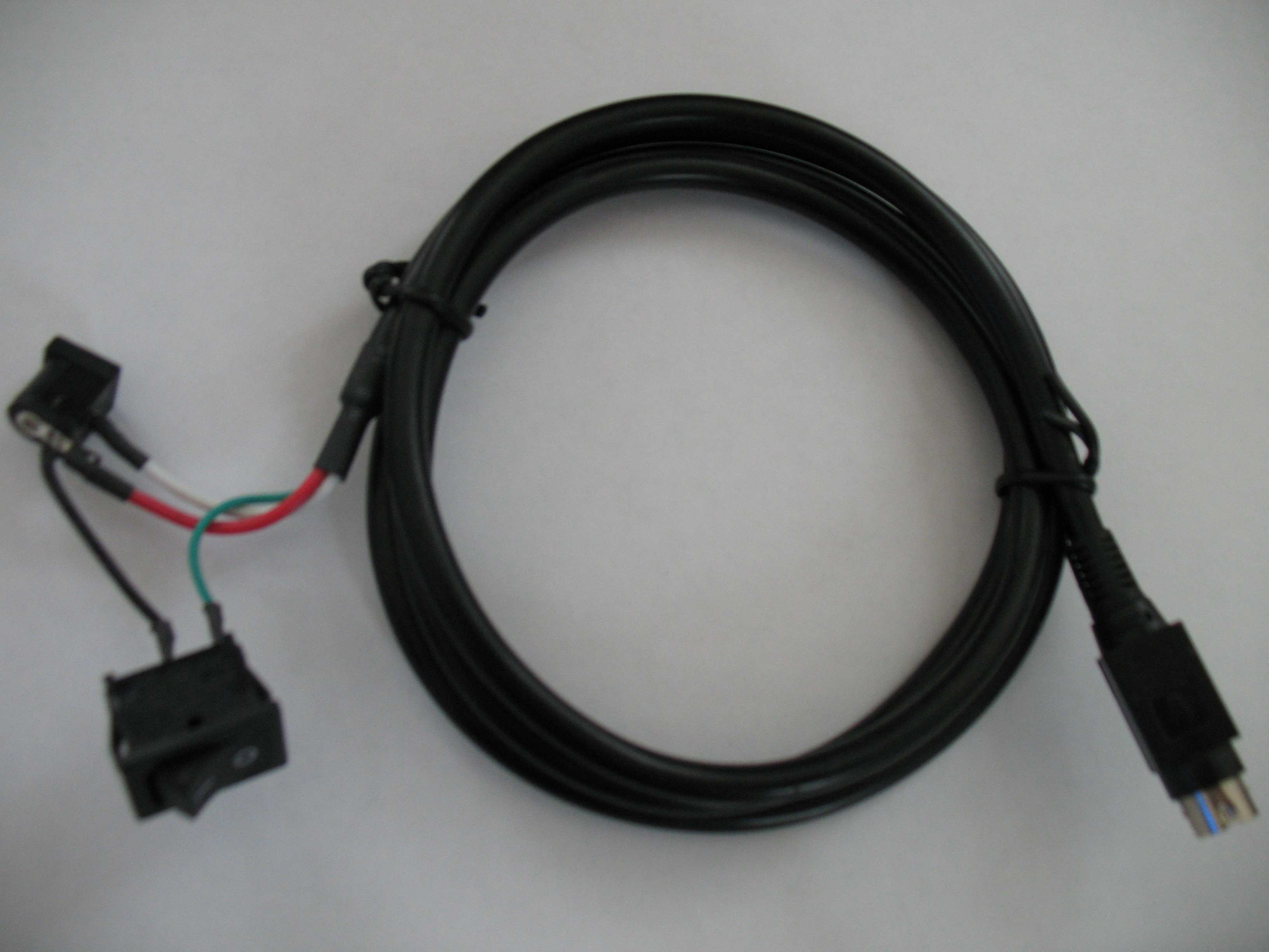Coverter cable for LOGISYS car pc M635FC/C to AC adapter